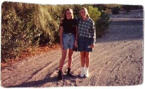 Skinny and sister